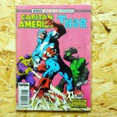 Cómics: MARVEL TWO IN ONE CAPITAN AMERICA THOR VOL 1 N 65. Lote 84759536