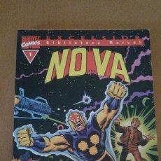 Cómics: BIBLIOTECA MARVEL : NOVA Nº 1 ( FORUM ). Lote 84944666