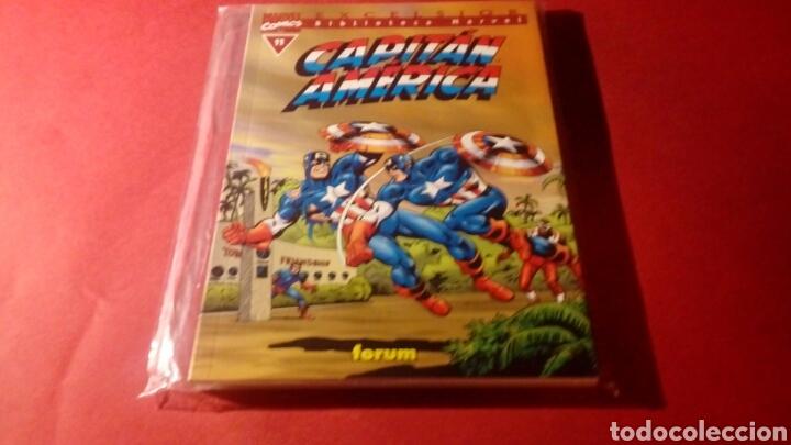CAPITAN AMERICA 11 BIBLIOTECA MARVEL EXCELSION EXCELENTE ESTADO FORUM (Tebeos y Comics - Forum - Otros Forum)