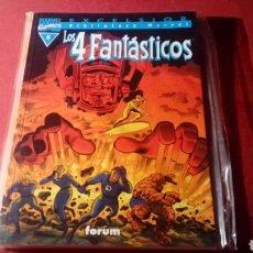 Cómics: LOS 4 FANTASTICOS 5 BIBLIOTECA MARVEL EXCELENTE ESTADO EXCELSION FORUM. Lote 84958768