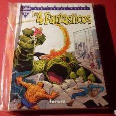 Cómics: LOS 4 FANTASTICOS 01 BIBLIOTECA MARVEL EXCELENTE ESTADO EXCELSION FORUM. Lote 84959015