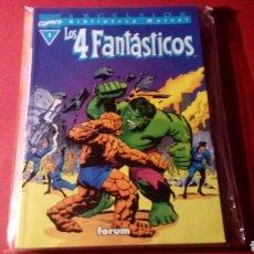 Cómics: LOS 4 FANTASTICOS 1 BIBLIOTECA MARVEL EXCELENTE ESTADO EXCELSION FORUM. Lote 84959175