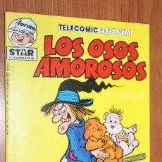 Cómics: TELECOMIC PRESENTA LOS OSOS AMOROSOS Y TAMBIEN LOS PEQUEÑECOS Nº 2 STAR COMICS - FORUM ALEVIN. Lote 84983148