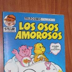 Cómics: TELECOMIC PRESENTA LOS OSOS AMOROSOS Y TAMBIEN LOS PEQUEÑECOS Nº 1 STAR COMICS - FORUM ALEVIN. Lote 84987388