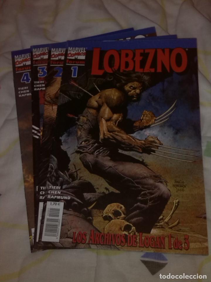 LOBEZNO VOLÚMEN 3 NºS 1 2 3 Y 4 CON LA SAGA LOS ARCHIVOS DE LOGAN (IV) (Tebeos y Comics - Forum - Otros Forum)