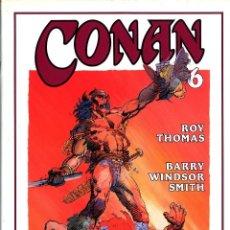 Cómics: CONAN Nº 6 EDICIÓN ESPECIAL ROY THOMAS Y BARRY WINDSOR SMITH TAPA DURA 1995 ARMARIO FOTOS. Lote 85152148