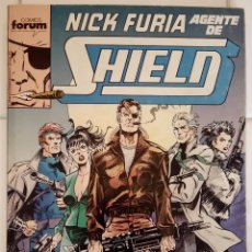 Cómics: NICK FURIA, AGENTE DE S.H.I.E.L.D. NUMEROS 1, 2, 3, 4, 5 DE BOB HARRAS, BOB HALL, KEITH POLLARD.... Lote 85235280