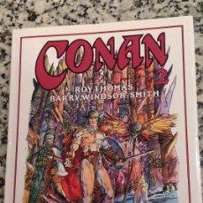 Cómics: CONAN ROY THOMAS BARRY WINDSOR-SMITH. B/N TAPA DURA. Lote 85265812
