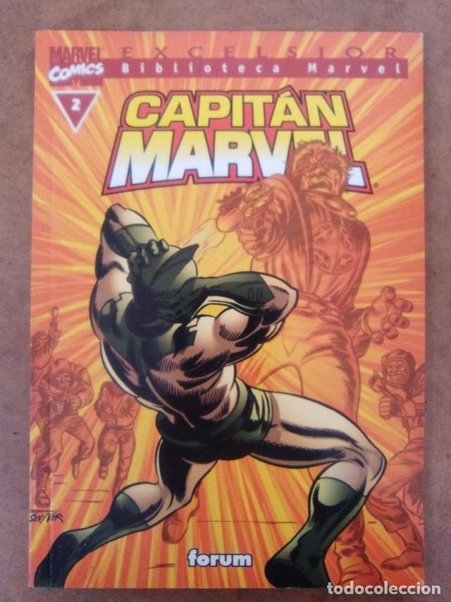Cómics: BIBLIOTECA MARVEL CAPITAN MARVEL Nº 2 - FORUM - Foto 1 - 85322356