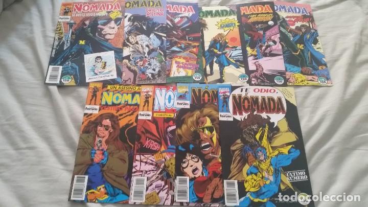 NOMADA (OBRA COMPLETA 12 NÚMEROS) -FORUM (Tebeos y Comics - Forum - Capitán América)