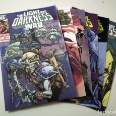 Cómics: THE LIGHT AND DARKNESS WAR. Lote 85684332
