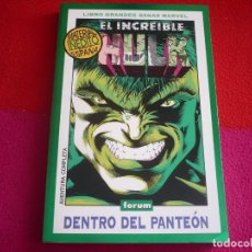 Cómics: HULK DENTRO DEL PANTEON ( PETER DAVID KEOWN ) ¡MUY BUEN ESTADO! GRANDES SAGAS MARVEL 2 FORUM. Lote 85693548