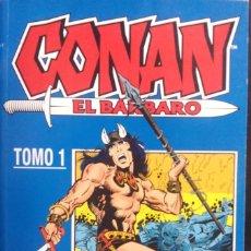 Cómics: CONAN EL BÁRBARO TOMOS Nº 1 AL Nº 7 (1 2 3 4 5 6 Y 7) COMICS FORUM RETAPADOS TOMO RETAPADO. Lote 85711768