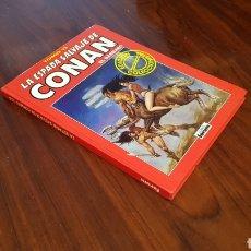 Cómics: CONAN TOMO 13 EXCELENTE ESTADO SERIE ROJA FORUM. Lote 85801990