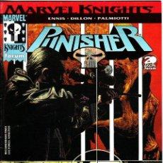 Cómics: PUNISHER MARVEL KNIGHTS VOL 2 NUMERO 1 PERFECTO ESTADO. Lote 86096200