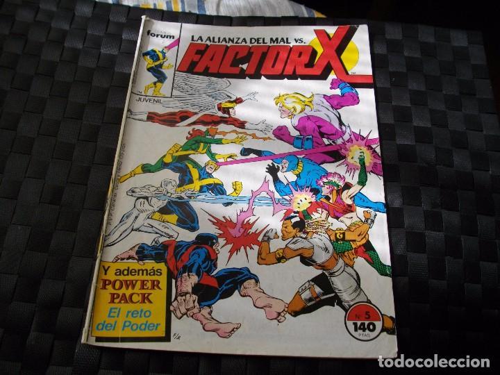 COMICS FORUM FACTOR X Nº 5 LA DE LAS FOTOS VER TODOS MIS LOTES DE COMICS (Tebeos y Comics - Forum - Factor X)