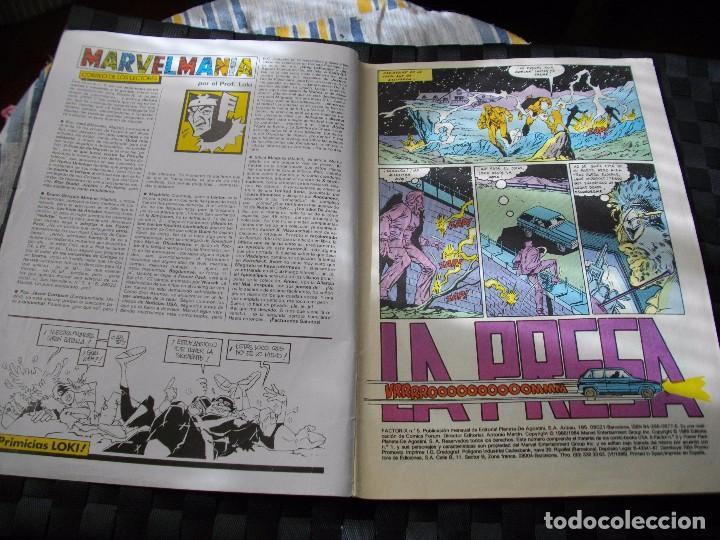 Cómics: COMICS FORUM FACTOR X Nº 5 LA DE LAS FOTOS VER TODOS MIS LOTES DE COMICS - Foto 2 - 86099424