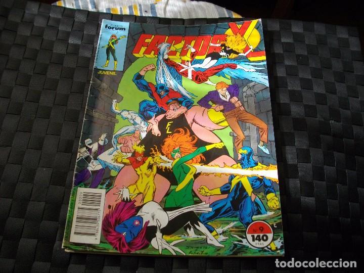 COMICS FORUM FACTOR X Nº 9 LA DE LAS FOTOS VER TODOS MIS LOTES DE COMICS (Tebeos y Comics - Forum - Factor X)