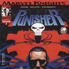 Cómics: PUNISHER MARVEL KNIGHTS VOL 2 NUMERO 2 PERFECTO ESTADO. Lote 86100184
