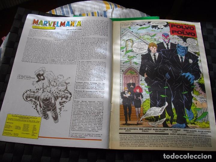 Cómics: COMICS FORUM FACTOR X Nº 34 LA DE LAS FOTOS VER TODOS MIS LOTES DE COMICS - Foto 2 - 86100460