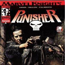 Cómics: PUNISHER MARVEL KNIGHTS VOL 2 NUMERO 4 PERFECTO ESTADO. Lote 86100672