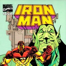 Cómics: IRON MAN CONTRA EL MANDARIN 1 FORUM PERFECTO ESTADO. Lote 86203196