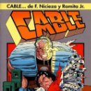 Cómics: CABLE: SANGRE Y METAL. X-FORCE. X-MEN. ROMITA JR. PERFECTO ESTADO. Lote 86203312