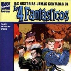 Cómics: LAS HISTORIAS JAMÁS CONTADAS DE LOS 4 FANTÁSTICOS: LA COSA Y LOBEZNO NÚMERO 10 - EJEMPLAR NUEVO. Lote 86206204
