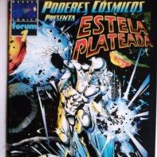 Cómics: PODERES CÓSMICOS 1 ESTELA PLATEADA SILVER SURFER PERFECTO ESTADO. Lote 86212796