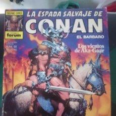 Cómics: COMIC FORUM SERIE ORO CONAN NUMEROS 55 -LOS VIENTOS DE AKA-GAAR. Lote 86480824