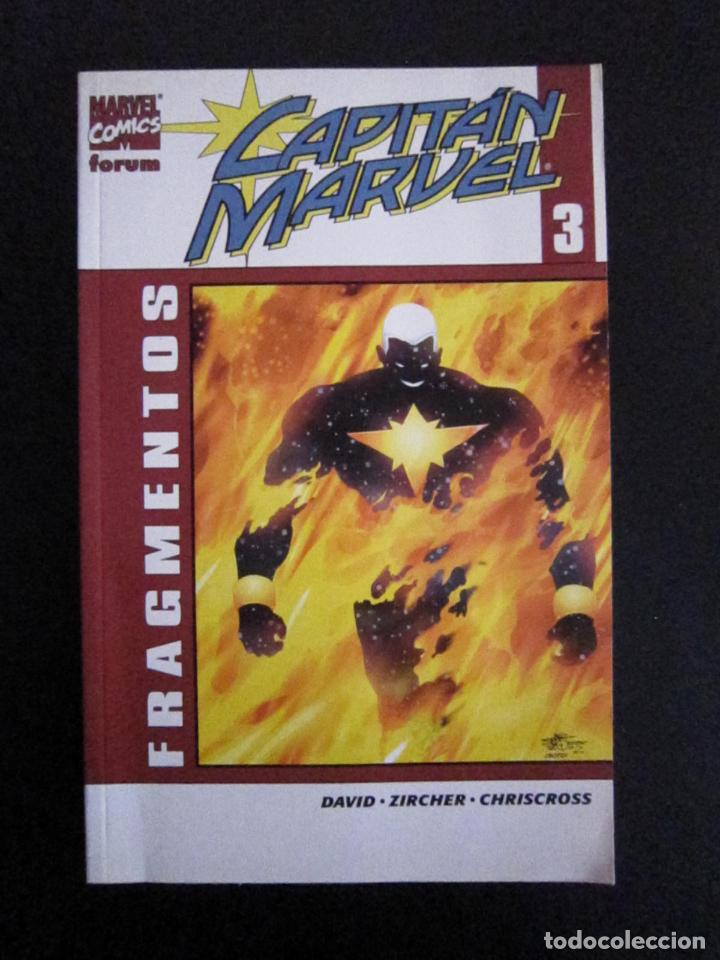 TOMO CAPITÁN MARVEL VOL.2 Nº3 - FRAGMENTOS - FORUM (Tebeos y Comics - Forum - Prestiges y Tomos)