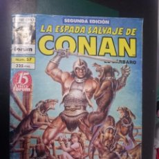 Cómics: FORUM -LA ESPADA SALVAJE DE CONAN EL BARBARO -N 57 --REF-HAULDEPUEMLACON. Lote 86502308