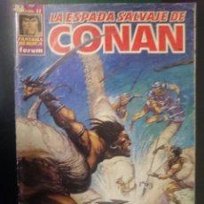 Cómics: FORUM -LA ESPADA SALVAJE DE CONAN EL BARBARO -N 11 --REF-HAULDEPUEMLACON. Lote 86502580