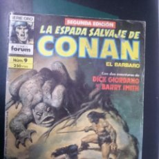 Cómics: FORUM -LA ESPADA SALVAJE DE CONAN EL BARBARO -N 9 --REF-HAULDEPUEMLACON. Lote 86502616