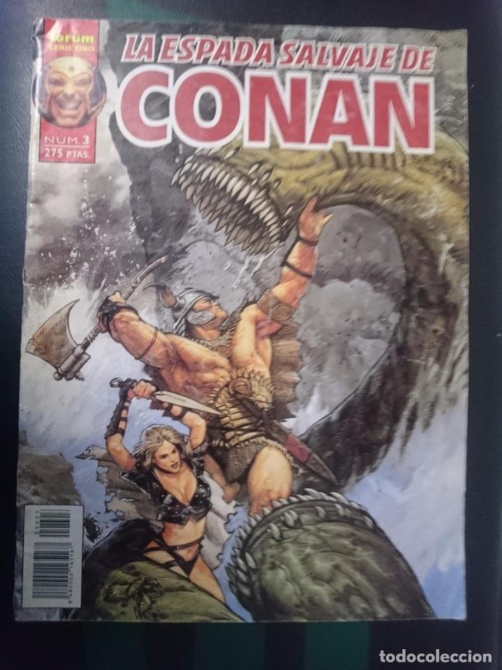 FORUM -LA ESPADA SALVAJE DE CONAN EL BARBARO -N 3 (Tebeos y Comics - Forum - Conan)
