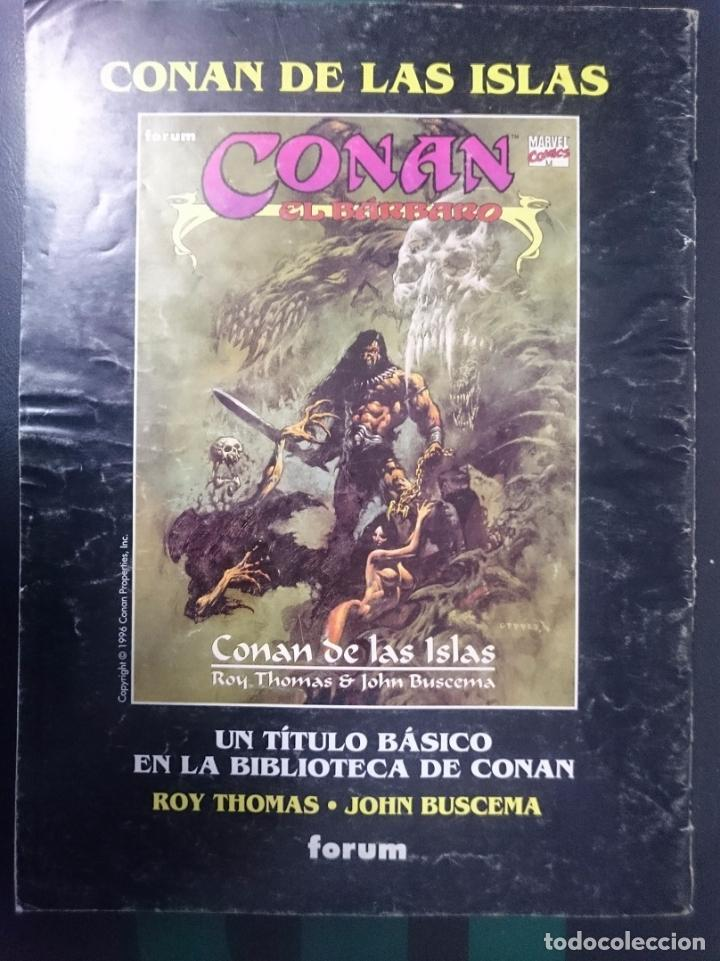 Cómics: FORUM -LA ESPADA SALVAJE DE CONAN EL BARBARO -N 3 - Foto 2 - 86502808