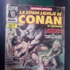 Cómics: FORUM -LA ESPADA SALVAJE DE CONAN EL BARBARO -N 2 --REF-HAULDEPUEMLACON. Lote 86502900