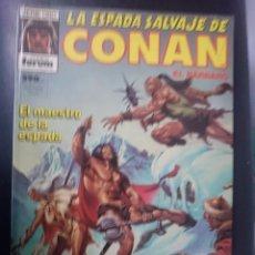 Cómics: FORUM -LA ESPADA SALVAJE DE CONAN EL BARBARO -EL MAESTRO DE LA ESPADA -CON 5 NUMEROS -VER FOTOS. Lote 86503008
