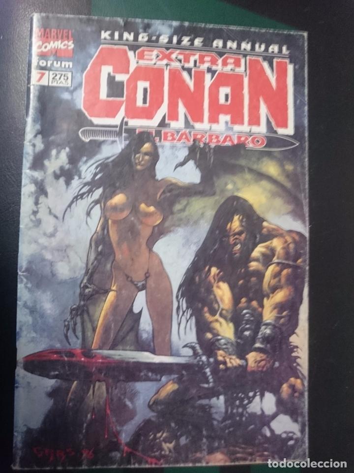 FORUM -EXTRA CONAN EL BARBARO -N 7 (Tebeos y Comics - Forum - Conan)