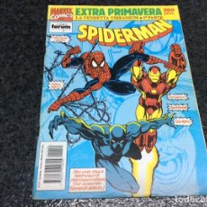 Cómics: SPIDERMAN - EXTRA PRIMAVERA 1992 - LA VENDETTA VIBRANIUM 1ª PARTE -ED. FORUM. Lote 105886479