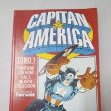 COMICS FORUM - CAPITÁN AMÉRICA VOL. 4 RETAPADO TOMO 1 - NÚMS 1, 2, 3, 4 Y 5