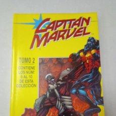 Cómics: CAPITAN MARVEL EXCELENTE ESTADO TOMO 2 DEL 6 AL 10 RETAPADO FORUM. Lote 86676196