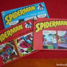 Cómics: SPIDERMAN TIRAS DE PRENSA 15, 16 Y 17 (STAN LEE JOHN ROMITA ) ¡BUEN ESTADO! DAILY STRIP MARVEL FORUM. Lote 86724268