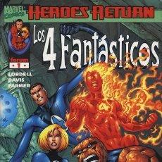 Cómics: 4 FANTASTICOS VOL. 3 HEROES RETURN Nº 1 - FORUM - EJEMPLAR NUEVO. Lote 86739048