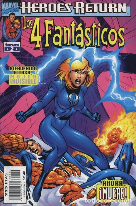 4 FANTASTICOS VOL. 3 HEROES RETURN Nº 2 - FORUM - IMPECABLE (Tebeos y Comics - Forum - 4 Fantásticos)