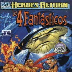 Cómics: 4 FANTASTICOS VOL. 3 HEROES RETURN Nº 4 - FORUM - IMPECABLE. Lote 86739212