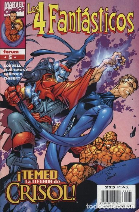 4 FANTASTICOS VOL. 3 Nº 5 - FORUM - IMPECABLE (Tebeos y Comics - Forum - 4 Fantásticos)