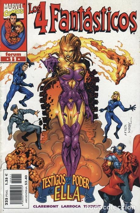 4 FANTASTICOS VOL. 3 Nº 11 - FORUM - IMPECABLE (Tebeos y Comics - Forum - 4 Fantásticos)