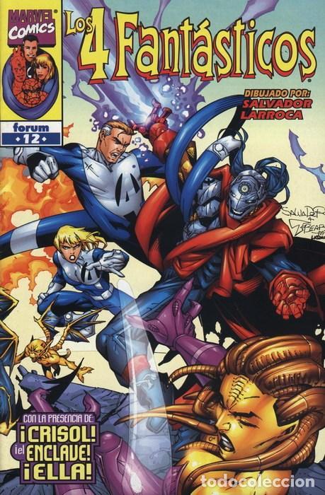 4 FANTASTICOS VOL. 3 Nº 12 - FORUM - IMPECABLE (Tebeos y Comics - Forum - 4 Fantásticos)