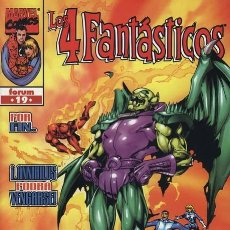 Cómics: 4 FANTASTICOS VOL. 3 Nº 19 - FORUM - IMPECABLE. Lote 86740476